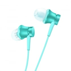 Original Xiaomi Piston Γνήσια In-Ear Stereo Earphone with Wire Control + Mic, Support Answering and Rejecting Call Mint