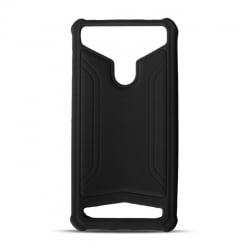 4,5'' - 5,0'' Universal Θήκη Σιλικόνης Μαύρη Silicone Case Black