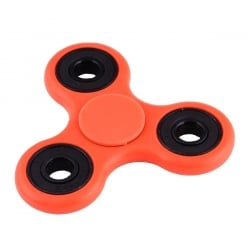 Fidget Spinner φωσφοριζε,4 Minutes Rotation Time, Fluorescent Light, Orange Plastic OEM