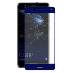 Huawei P10 Lite ENKAY Προστατευτικό Τζαμάκι Σκούρο Μπλε 0.26mm 9H Hardness 2.5D Full Screen Curved Tempered Glass