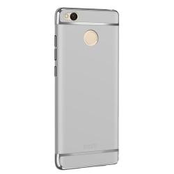 Xiaomi Redmi 4X Mofi Ultra-Thin Electroplating Side Protective Σκληρή Θήκη Ασημί