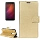 Xiaomi Redmi Note 4X Θήκη Βιβλίο Χρυσό Retro Crazy Horse Texture Horizontal Flip Leather Case With Holder & Card Gold