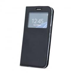 Samsung Galaxy J5 2017 Θήκη Βιβλίο Μαύρη Με Παράθυρο Book J530 Case Smart Look Black