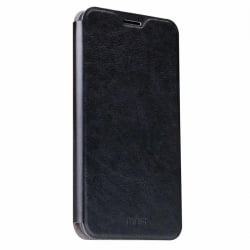 Honor 8 Mofi Θήκη Βιβλίο Μαύρο Leather Book Case Black