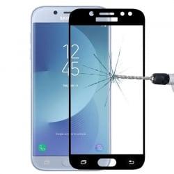 Samsung Galaxy J5 2017 Εμπρός - Πλάγια Full Screen Μαύρο HAWEEL Προστατευτικό Τζαμάκι Tempered Glass Black