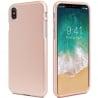 iPhone X Goospery iJelly Case Θήκη Σιλικόνης Ροζ - Χρυσή Silicone Case Rose - Gold