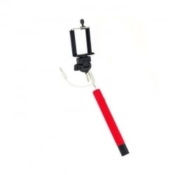 Monopod Selfie Stick Z07 - 5S Red / Κόκκινο