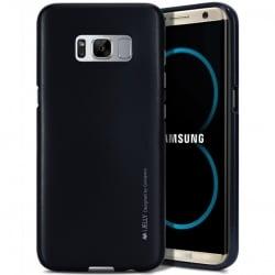 Samsung Galaxy S8 Plus Goospery iJelly Case Θήκη Σιλικόνης Μαύρη Silicone Case Black