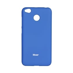 Xiaomi Redmi 4X Θήκη Roar Colorful Jelly Σιλικόνης Μπλε Silicone Case Blue