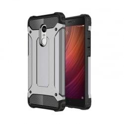 Xiaomi Redmi Note 4X Θήκη Σιλικόνης Γκρι Defender Case Grey