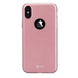 iPhone X / XS Lenuo Le Shield Σκληρή Θήκη Ροζ - Χρυσή Hard Case Rose - Gold
