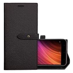 Xiaomi Redmi 4X Business Flip Leather Θήκη Βιβλίο Μαύρο Case Black