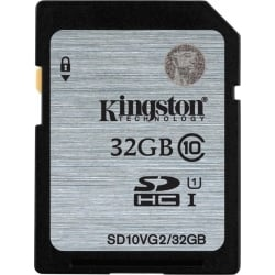 Kingston SDHC/SDXC 32GB Class 10 UHS-I SD10VG2/32GB