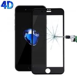 iPhone 7 Plus / 8 Plus HAWEEL 4D 0.26mm 9H Surface Hardness Curverd Arc HD Silk-screen Προστατευτικό Τζαμάκι Μαύρο Tempered