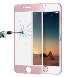 iPhone 7 Plus / 8 Plus ENKAY 0.26 mm Titanium Full Screen Προστατευτικό Τζαμάκι Ροζ - Χρυσό Tempered Glass 9H 3D Rose - Gold