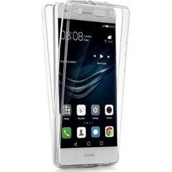 Huawei P8 Lite - Διπλή Σιλικόνη Διαφανής Μπρος - Πίσω