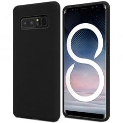 Samsung Galaxy Note 8 Θήκη Σιλικόνης Μαύρη Goospery Soft Feeling Silicone Case Black