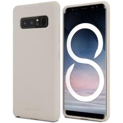 Samsung Galaxy Note 8 Θήκη Σιλικόνης Goospery Soft Feeling Silicone Case Stone
