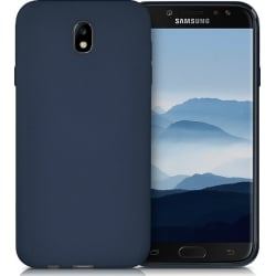 Samsung Galaxy J5 2017 Θήκη Σιλικόνης Σκούρο Μπλε Goospery Soft Feeling Silicone Case Midnight Blue