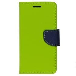 Xiaomi Redmi 4A Θήκη Βιβλίο Λαχανί - Μπλέ Fancy Book Case Telone Lime - Navy
