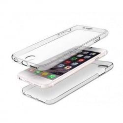 iPhone 6 Plus / 6s Plus - Front & Back Διπλή Σιλικόνη Διαφανής Μπρος - Πίσω