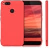 Xiaomi Mi 5X / Mi A1 Θήκη Σιλικόνης Κόκκινη Ultra Shine Silicone Case Red