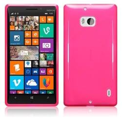 Nokia Lumia 930 Θήκη Σιλικόνης Φούξια / Ultra Shine Silicone Case Fuchsia