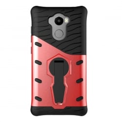 Xiaomi Redmi 4 / 4 Pro / 4 Prime Θήκη Κόκκινη Με Σταντ 360 Degree Spin Tough Armor TPU+PC Combination Case With Holder Red