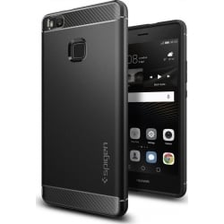 Θήκη Spigen Huawei P9 Lite Rugged Armor Black L05CS20299