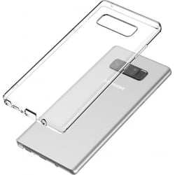 Samsung Galaxy Note 8 Θήκη Σιλικόνης Διάφανη Silicone Case Ultra Slim 0,3mm Transparent