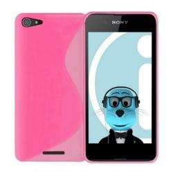 Sony Xperia E3 Θήκη Σιλικόνης Ροζ Silicone S Case Pink