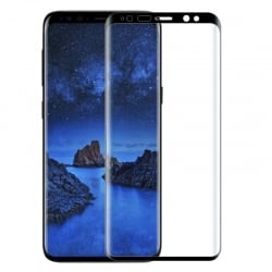 Samsung Galaxy S9 TOTUDESIGN 0.23mm 9H Hardness Εμπρός και Πλάγια Μαύρο Full Screen 9H Tempered Glass Black