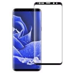 Samsung Galaxy S9 Plus Mofi Προστατευτικό Τζαμάκι Μαύρο 9H Hardness 3D Explosion-Proof Full Screen Film Black