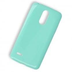 LG K8 2017 Θήκη Σιλικόνης Βεραμάν Ultra Shine Silicone Case Mint