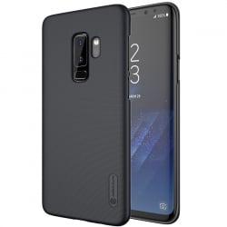 Samsung Galaxy S9+ Plus Nillkin Frosted Shield Σκληρή Θήκη Μαύρη + Μεβράνη Προστασίας Hard Case Black