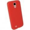 Samsung Galaxy S4 Θήκη Σιλικόνης Κόκκινη Ultra Shine Silicone Case Red