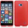 Microsoft Lumia 640 Θήκη Σιλικόνης Κόκκινη Στρας Silicone Candy Case Red