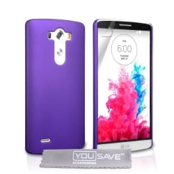 LG G3 mini Θήκη Σιλικόνης Μωβ Goospery Silicone Jelly Case Purple