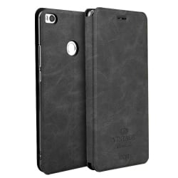 Xiaomi Mi A1 / Mi 5X Θήκη Βιβλίο Ανθρακί Mofi Vintage Leather Book Case Dark Grey