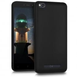 Xiaomi Redmi 5A Θήκη Σιλικόνης Μαύρη Matt Silicone Case Black