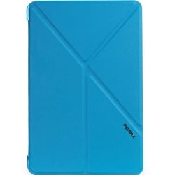 iPad Pro 9.7'' Remax Transformer Θήκη Μπλε Leather Case Blue