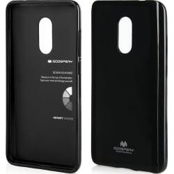 Xiaomi Redmi 5 Plus Goospery Jelly Case Θήκη Σιλικόνης Μαύρη Silicone Case Black