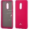Xiaomi Redmi 5 Plus Goospery Jelly Case Θήκη Σιλικόνης Φούξια Silicone Case Hotpink