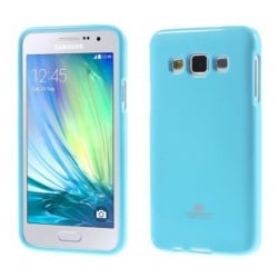 Samsung Galaxy A3 2015 Θήκη Σιλικόνης Απαλό Μπλέ Goospery Silicone Jelly Case Light Blue