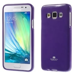 Samsung Galaxy A3 2015 Θήκη Σιλικόνης Μωβ Goospery Silicone Jelly Case Purple