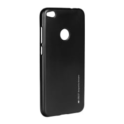 Huawei P9 Lite Mini Goospery iJelly Case Θήκη Σιλικόνης Μαύρη Silicone Case Black