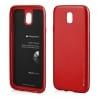 Samsung Galaxy J5 2017 Goospery iJelly Case Θήκη Σιλικόνης Κόκκινη Silicone Case Red