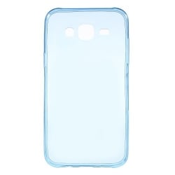 Microsoft Lumia 535 Θήκη Σιλικόνης Μπλέ Silicone Case Ultra Slim 0.3 mm Transparent Blue