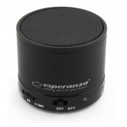 Bluetooth Speaker Esperanza EP115K Black Μαύρο