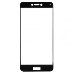 Huawei P8 / P9 Lite 2017 Full Glue 5D Full Screen Μαύρο Προστατευτικό Τζαμάκι Tempered Glass Black
